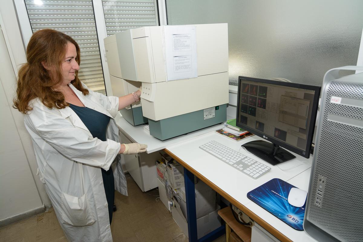 Μονάδα Κυτταρομετρίας Ροής